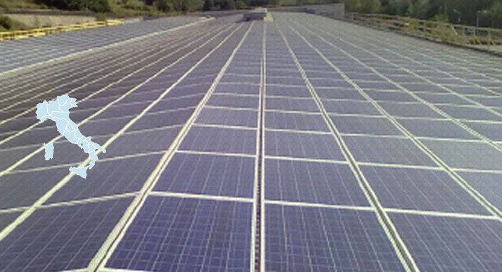 Impianto Fotovoltaico revamping Gricignano di aversa