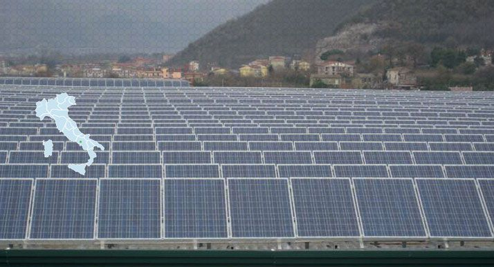 Impianto Fotovoltaico revamping Fisciano