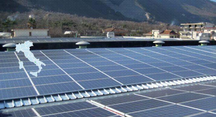 Impianto Fotovoltaico revamping Nocera inferiore