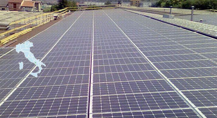 Impianto Fotovoltaico Industriale Mercato San Severino
