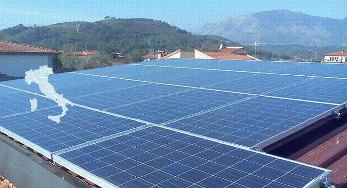 Impianto Fotovoltaico Residenziale santi Cosma e Daminao
